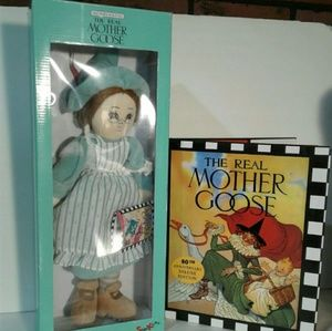 Other - The real Mother Goose plush and book